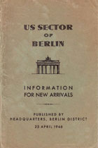 1946 Berlin Booklet Cover